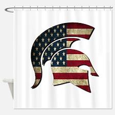 Spartan Shower Curtain