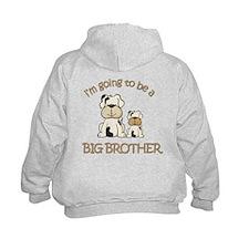 big brother puppy secret Hoodie