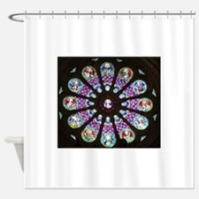 Rose Window Lisboa Se Shower Curtain