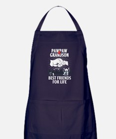 Pawpaw And Grandson Best Friends For Life Apron (d