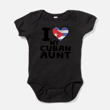 I Heart My Cuban Aunt Body Suit