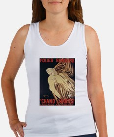 Vintage poster - Chand d'Habits Tank Top
