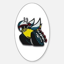SUPER BEE Oval Decal