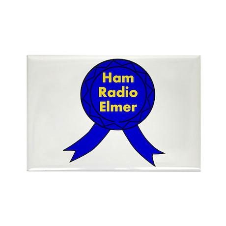 Ham Radio Elmer Rectangle Magnet