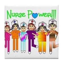 Cute Registered nurse student Tile Coaster