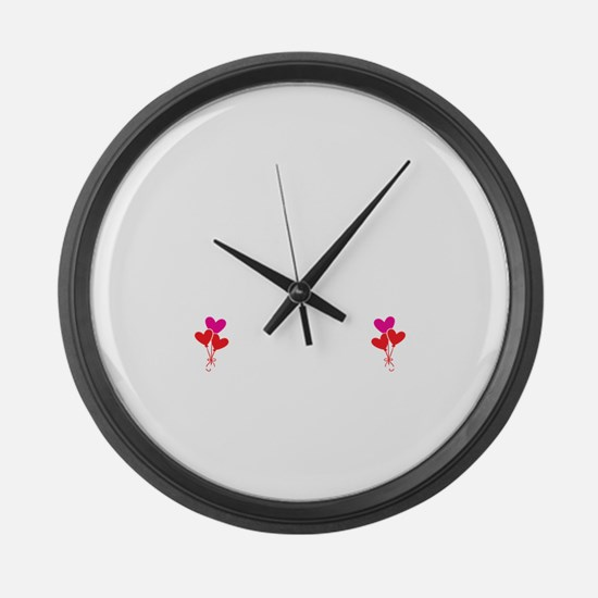Have No Fear Mimi Is Here Large Wall Clock