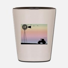Cool Agriculture Shot Glass