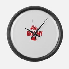 Best Grammy Ever Large Wall Clock