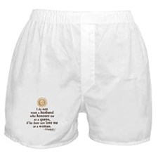 Queen Elizabeth I Marriage Quote Boxer Shorts