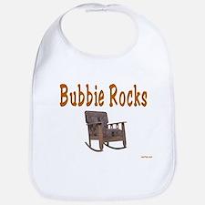 BUBBIE ROCKS YIDDISH Bib