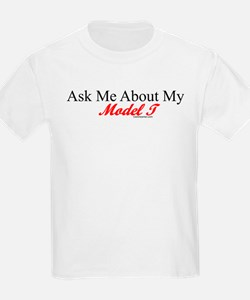 """""""Ask About My Model A"""" T-Shirt"""