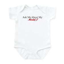 """Ask About My Model A"" Infant Bodysuit"