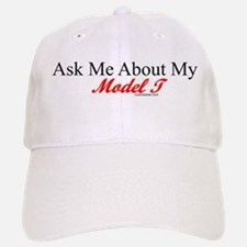 """Ask About My Model A"" Baseball Baseball Cap"
