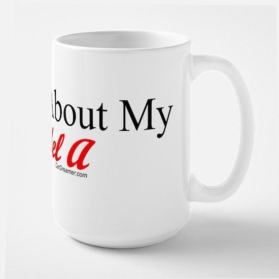 """Ask About My Model A"" Large Mug"