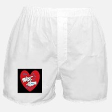 ASL You Touch My Heart Boxer Shorts