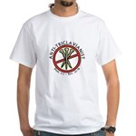 Anti-Triclavianist White T-Shirt