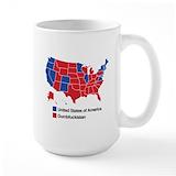 Anti republican Large Mugs (15 oz)
