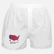 Map of Dumbfuckistan Boxer Shorts