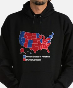 Map of Dumbfuckistan Sweatshirt