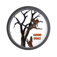 Good Dog! Wall Clock