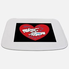 ASL You Touch My Heart Bathmat