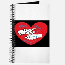 ASL You Touch My Heart Journal