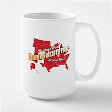 Greetings from Dumbfuckistan Large Mug