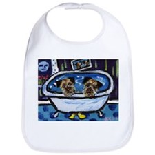 BORDER TERRIER bath Bib