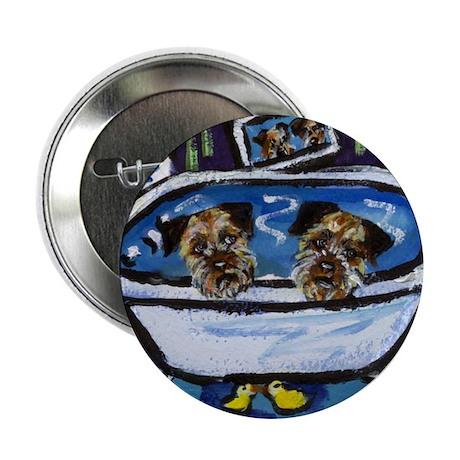 "BORDER TERRIER bath 2.25"" Button (10 pack)"