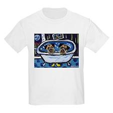 BORDER TERRIER bath Kids T-Shirt
