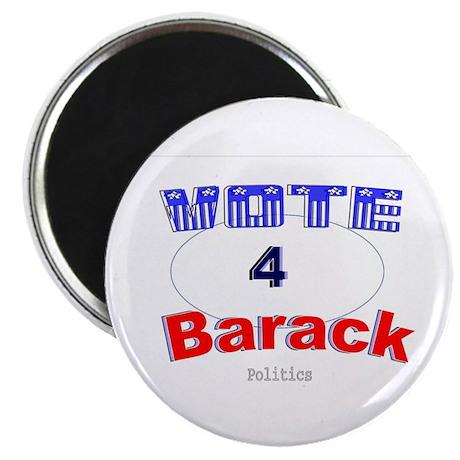 """Vote 4 Barack 2.25"""" Magnet (10 pack)"""