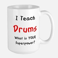 teach drums Mugs