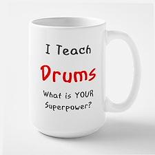 teach drums Mugs