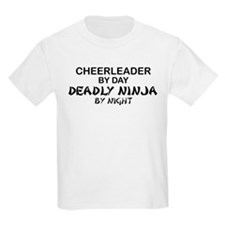 Cheerleader Deadly Ninja T-Shirt