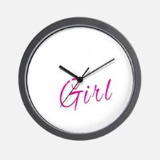 Unique Christian girl Wall Clock