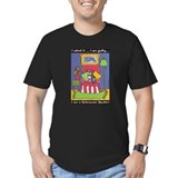 Dog rescue Fitted Dark T-Shirts