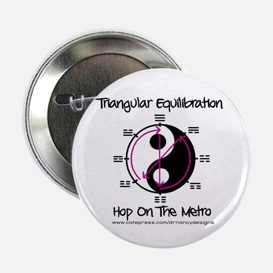 "Triangular Equilibration 2.25"" Button"