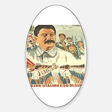 Azerbaycan Sticker (Oval)