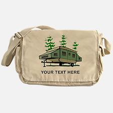 Camping Popup Trailer Home Messenger Bag