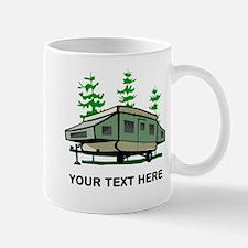 Camping Popup Trailer Home Mug