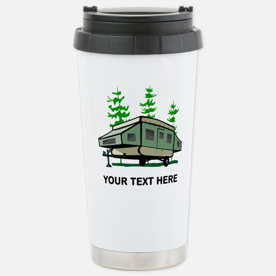 Camping Popup Trailer H Stainless Steel Travel Mug
