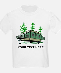 Camping Popup Trailer Home T-Shirt