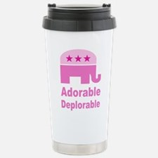 Adorable Deplorable Travel Mug