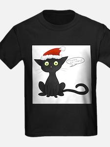 Meowy Christmas! T-Shirt