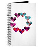 Circle of Iridescent Hearts Journal