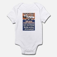 MOTOR CITY GARAGE 2 Infant Bodysuit