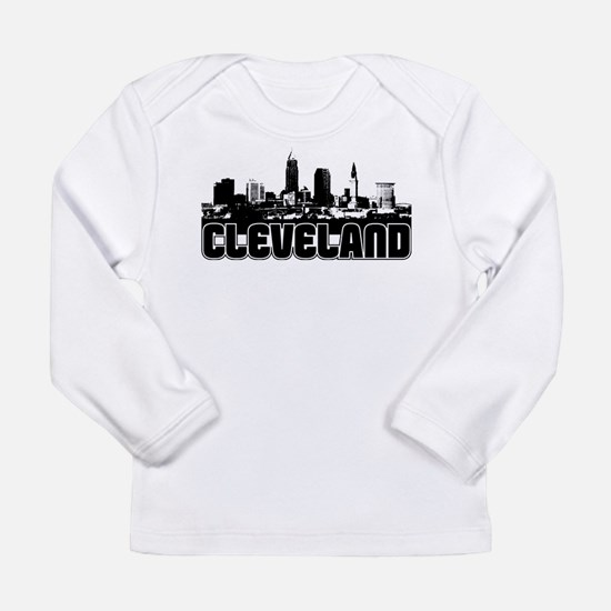 Cleveland Skyline Long Sleeve T-Shirt