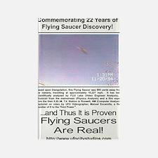 Flying Saucer Commemorative T-Shirt - Magnets