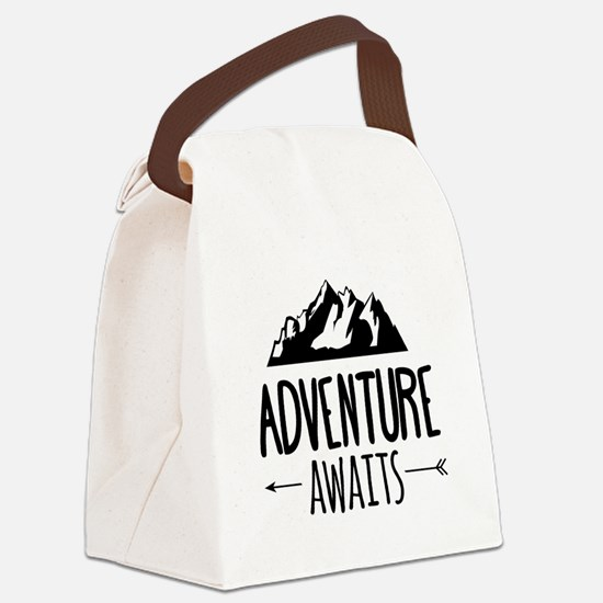 Cute Travel Canvas Lunch Bag