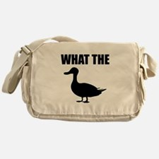 What The Duck Messenger Bag